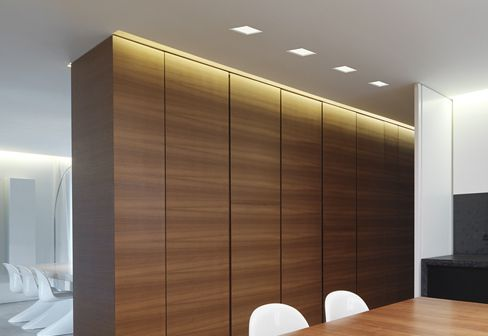Built In Ceiling Lights: Trybeca square with bezel by Reggiani - ceiling built-in lights - design at  STYLEPARK,Lighting