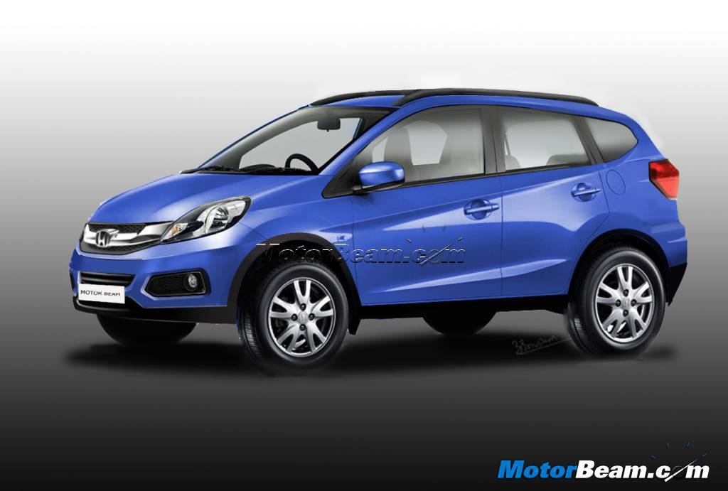 Honda brio based compact suv to launch in india by late 2016 for Honda compact suv