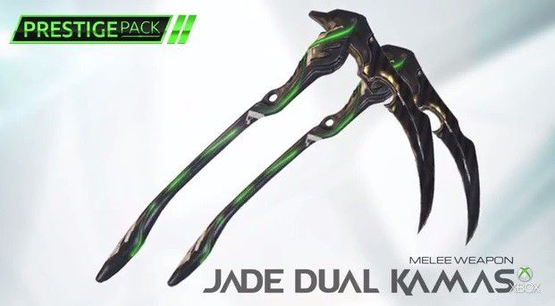 warframe gets an xbox one exclusive weapon skins in second prestige