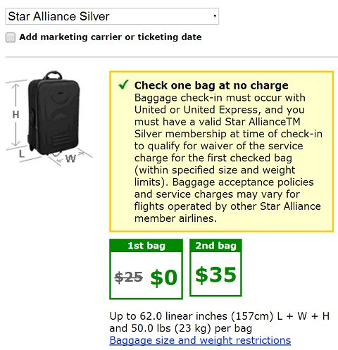 United Gives Free Checked Bags Again To Star Alliance