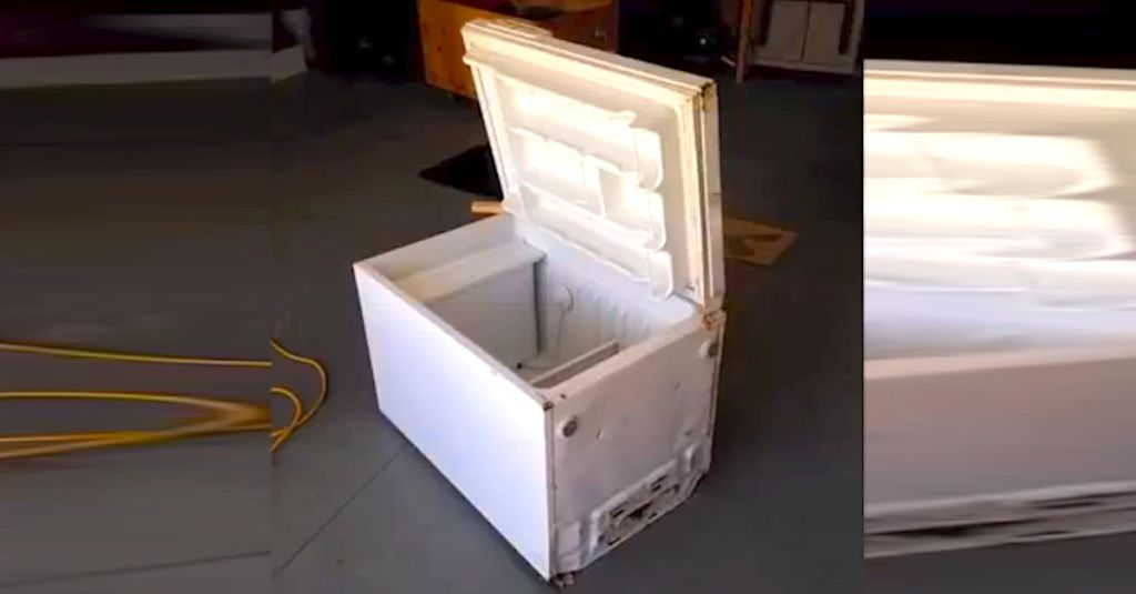 Instead Of Tossing This Old Mini Fridge  He Spent  20 To Make Something  Incredible. Of Tossing This Old Mini Fridge  He Spent  20 To Make Something