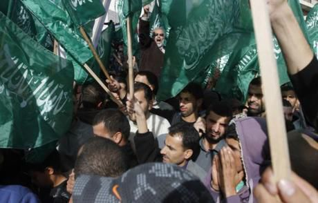 Hamas is indistinguishable from the Palestinian people