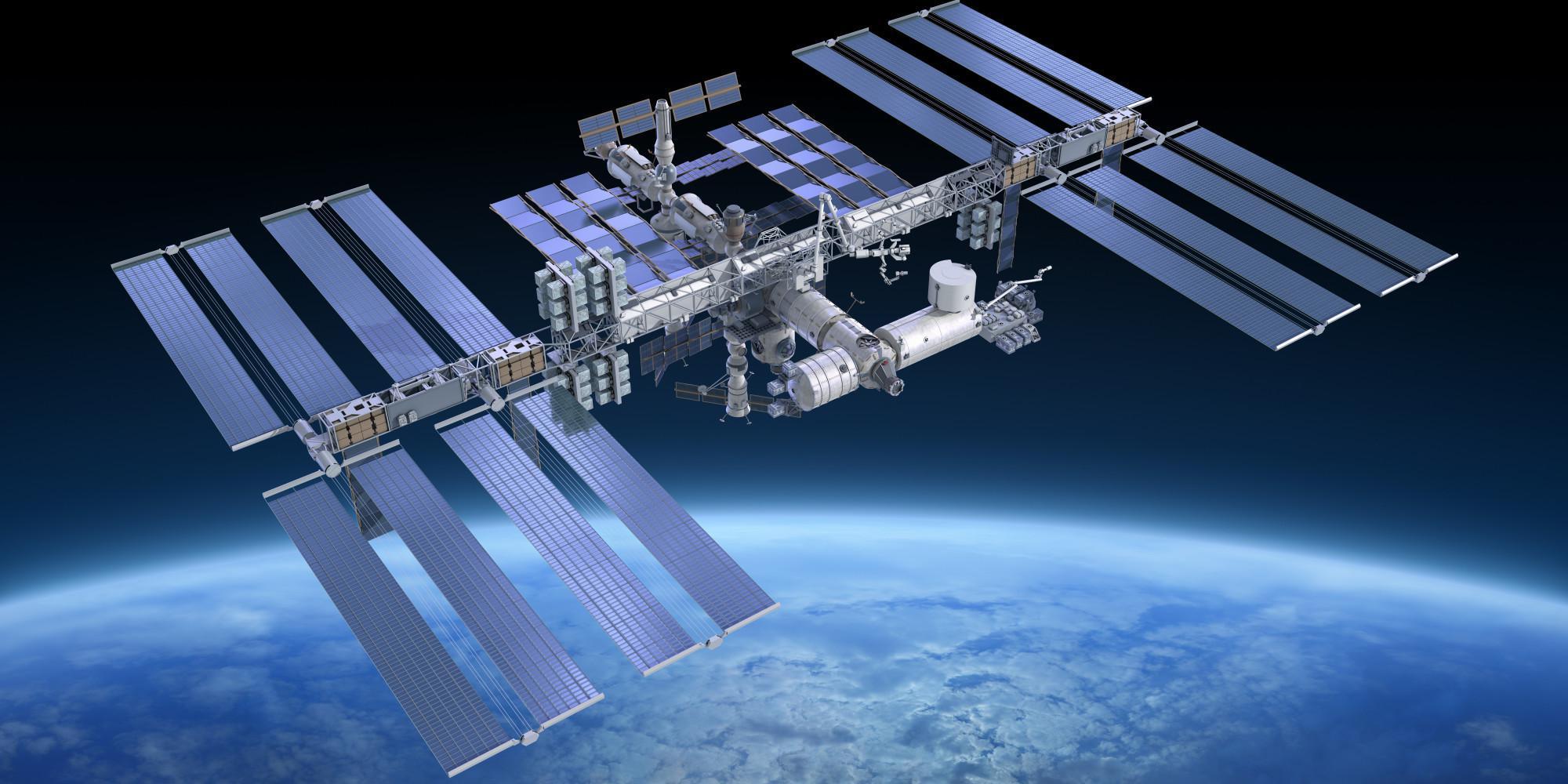 international space station nasa - HD2000×1000
