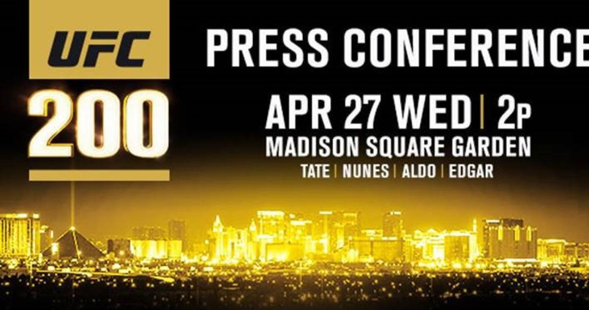 ufc 200 press conference tickets on sale
