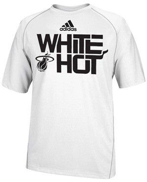 innovative design 209db 0eb28 adidas Miami HEAT White Hot Climalite | Miami HEAT | Dwyane ...