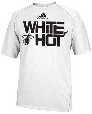 innovative design 2a507 5d351 adidas Miami HEAT White Hot Climalite | Miami HEAT | Dwyane ...