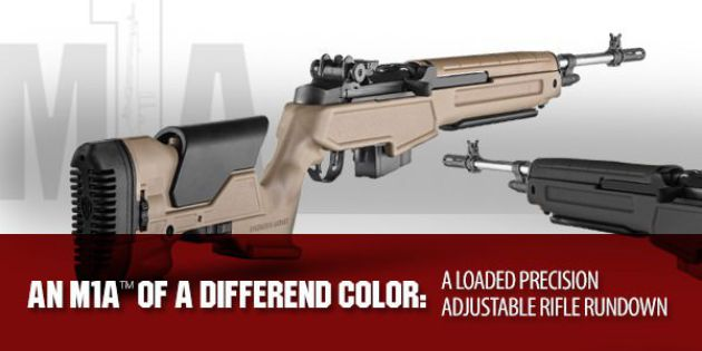 The M1A Loaded Precision Adjustable Stock Rifle Rundown