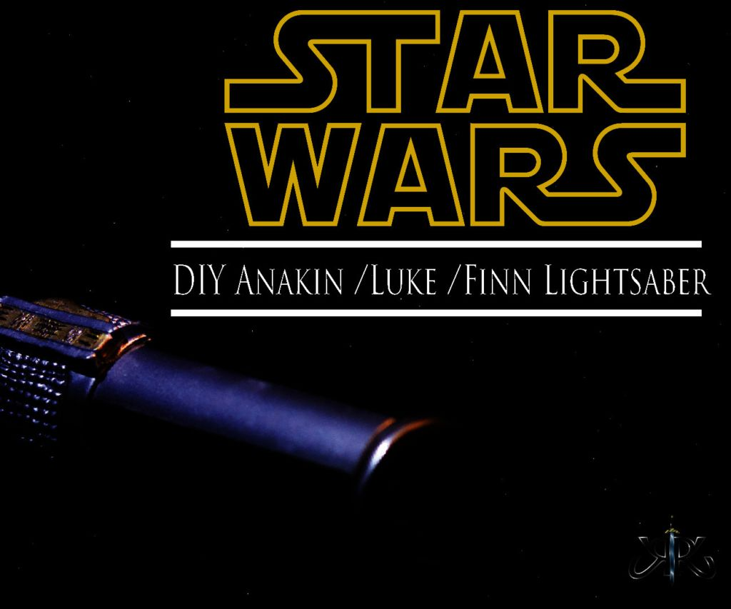 how to make a lightsaber easy