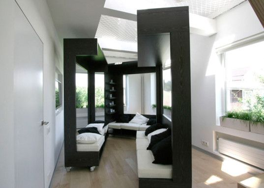 Elegant Transformable Cube Swiftly Turns One Room Into A
