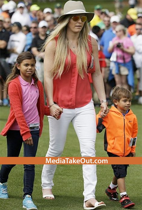 pics  tiger woods kids are real cute       his son looks
