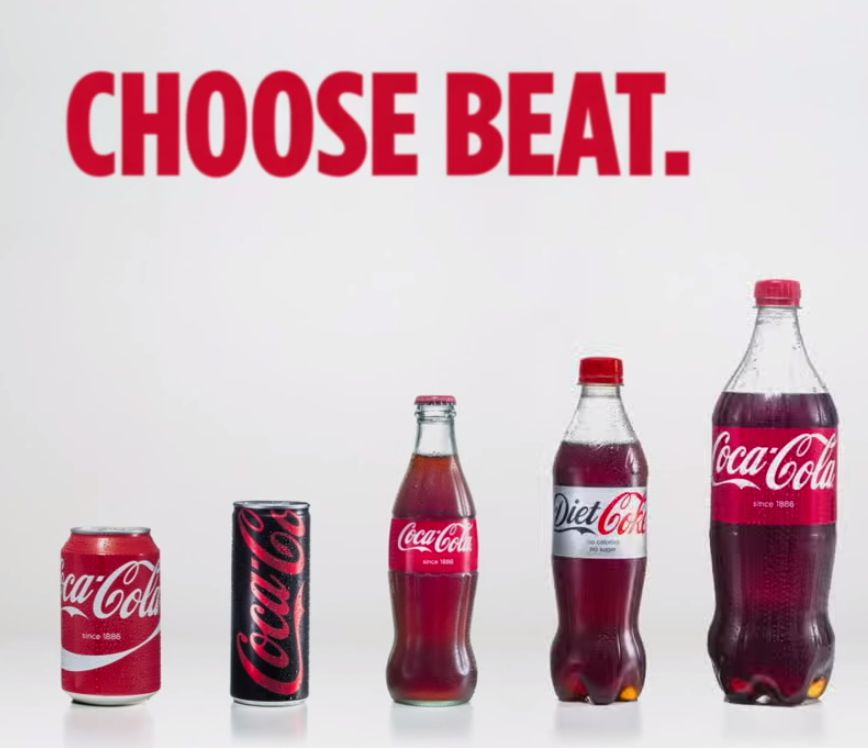 Coca-Cola commences unified brand strategy with 'Choose ...