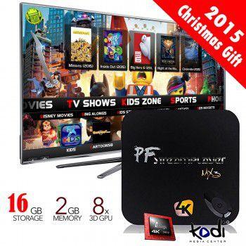 PigFlyTech-TI4 Android TV Box, MXQ-PRO ANDROID TV BOX,PFMX3