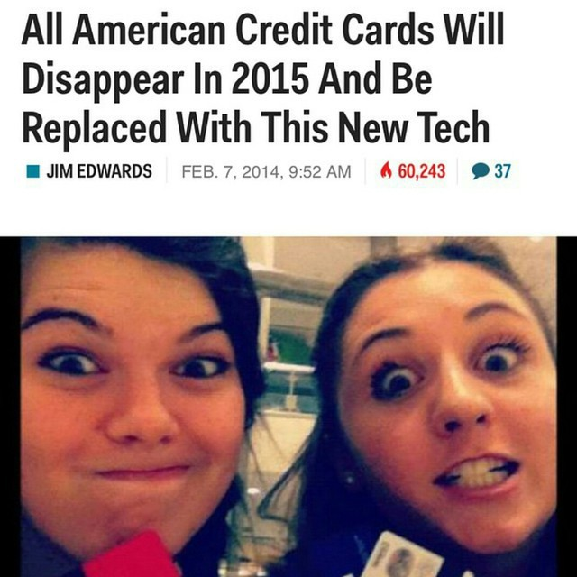 Every Credit Card In The U.S. Will Be Replaced By October
