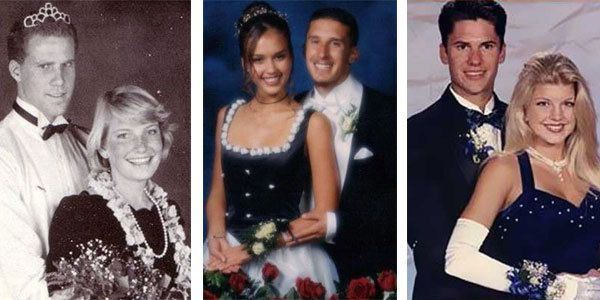 10 Awkward Celebrity Prom Photos - YouTube