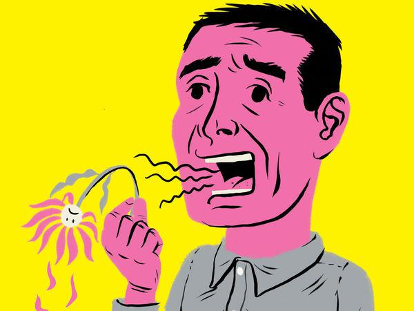 how to get rid of garlic breath the next day