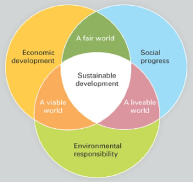 the contrasting meanings of sustainable economic development essay Economic development theories definition of economic development it can be defined as the increase in the standard of living of a nation's population with sustained growth from a simple, low-income economy to a modern, high-income economy.