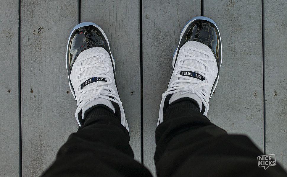 new style edccc 9c277 On-Foot Look: Air Jordan 11 Low