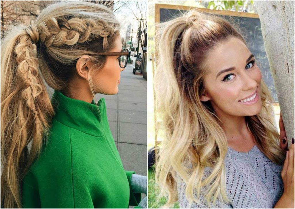 Amazing 19 Super Cute Ponytail Hairstyles To Glam Up Your Look Short Hairstyles Gunalazisus
