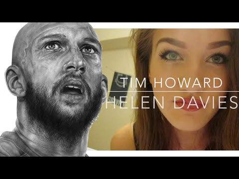 Drawing Tim Howard - EFC