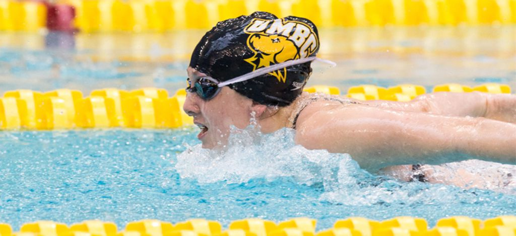 Escobedo Breaks Pool Record Umbc Swimming And Diving Splits With Towson On Saturday