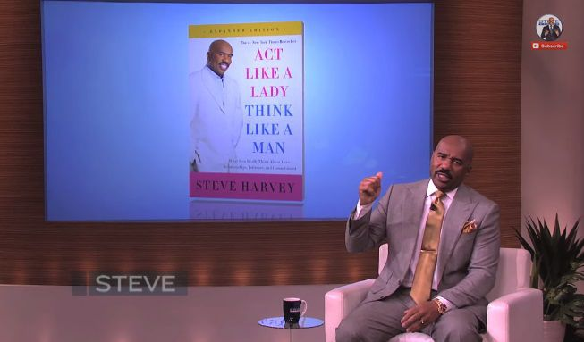 Man Cave With Steve Harvey : Steve harvey s month plan to get a man