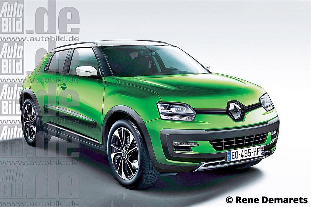 renault developing new compact suv for 2017 launch. Black Bedroom Furniture Sets. Home Design Ideas