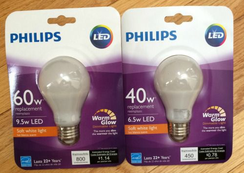Philips LED with Warm Glow Dimmable Light Review