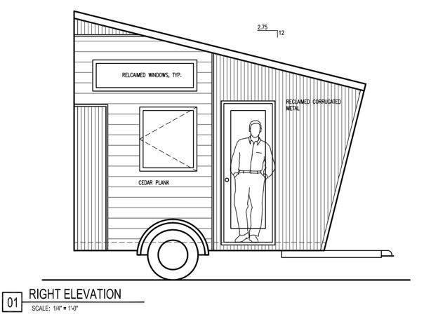 denise's x tiny house design, 8x12 tiny house, 8x12 tiny house floor plans, 8x12 tiny house on wheels