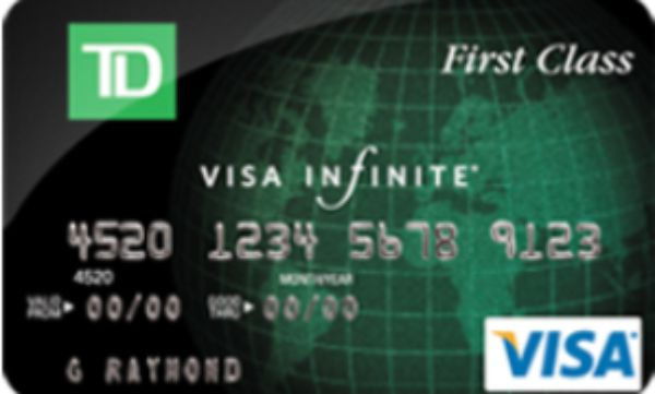 65 000 Sign Up Bonus Points Td First Class Travel Visa