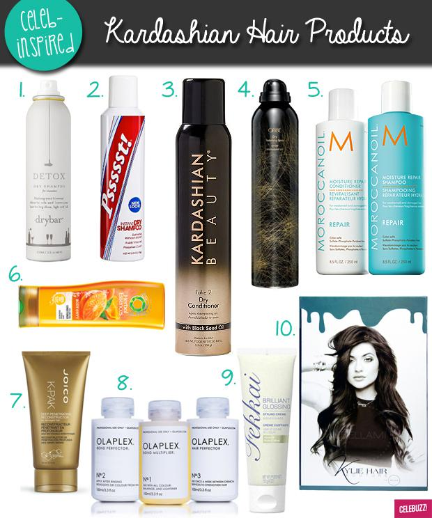 A Guide To The Kardashians And Jenners Favorite Hair Products