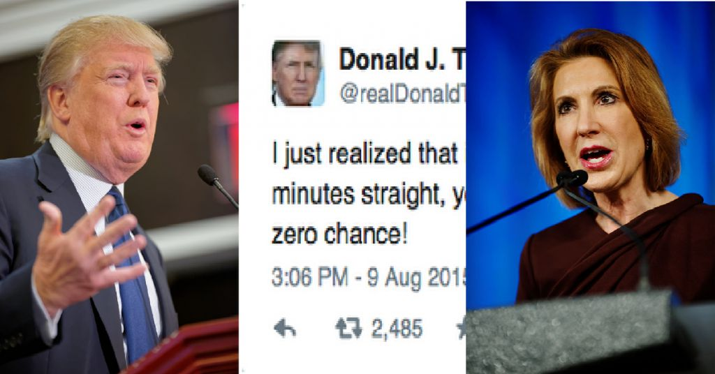 BREAKING: Carly Fiorina Tries to Shame Donald Trump ...