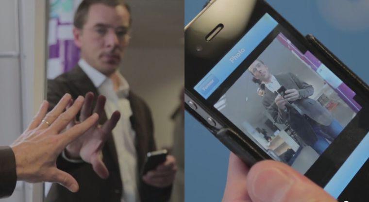 Изобретено зеркало, делающее фото