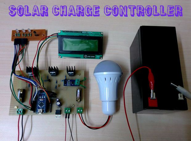 Arduino Solar Charge Controller Version 2 0