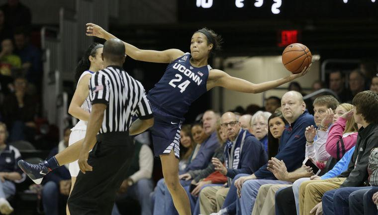 Sports run in the family of UConn women's basketball's Collier