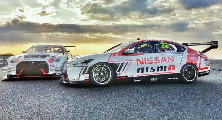nissan launches 2016 altima v8 supercar and gt r nismo gt3. Black Bedroom Furniture Sets. Home Design Ideas
