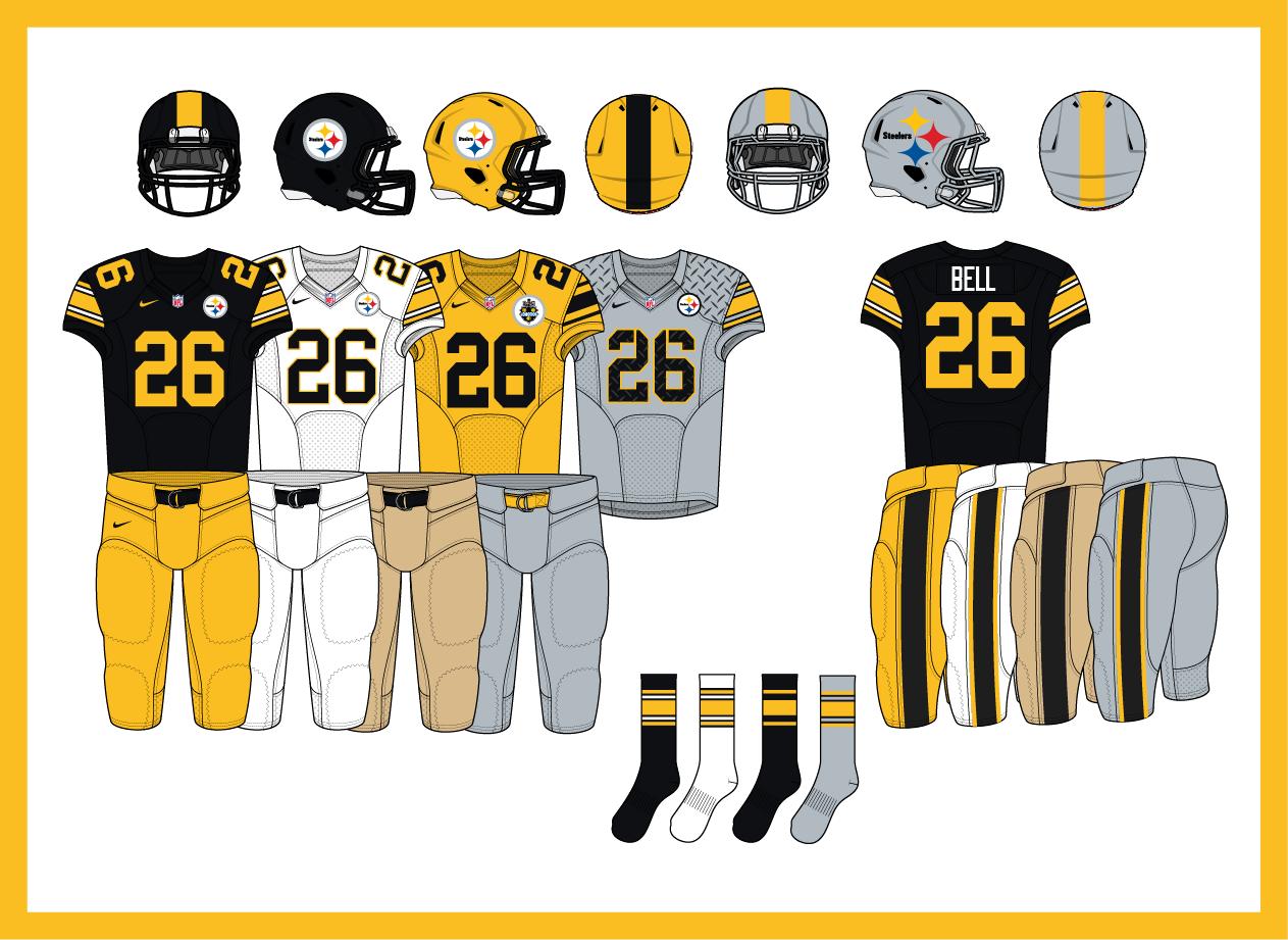 Gorgeous Steelers concept uniform for 2014 f405c31ca