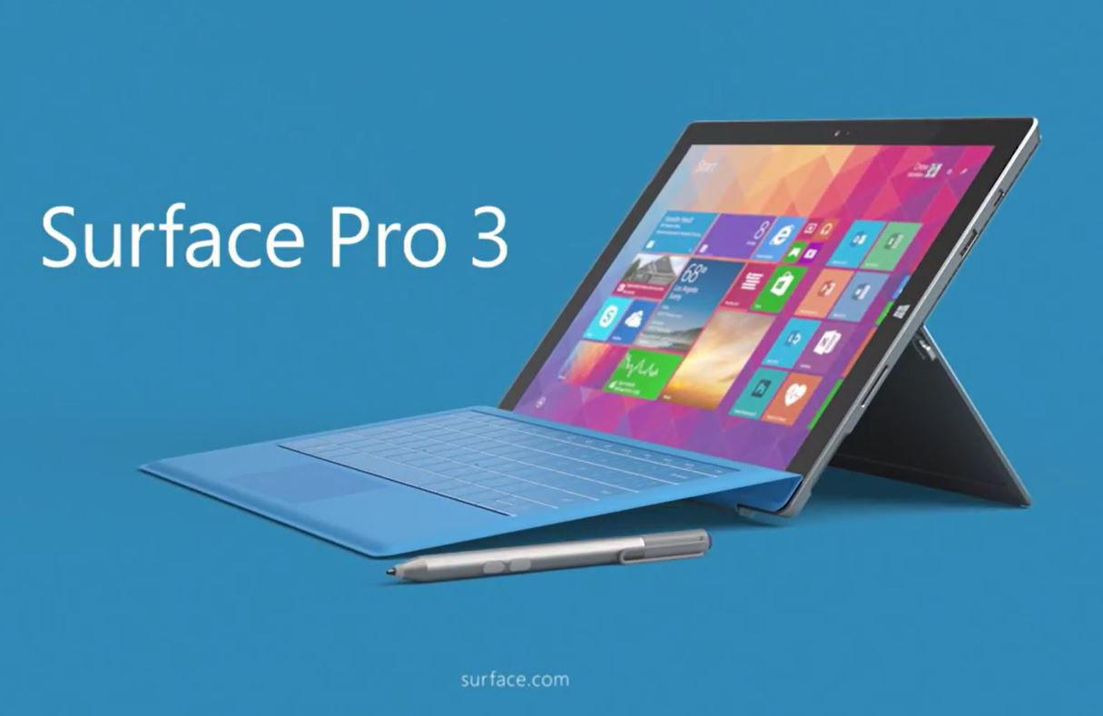 Microsoft surface pro 3 awarded the best mobile tablet at gsma global