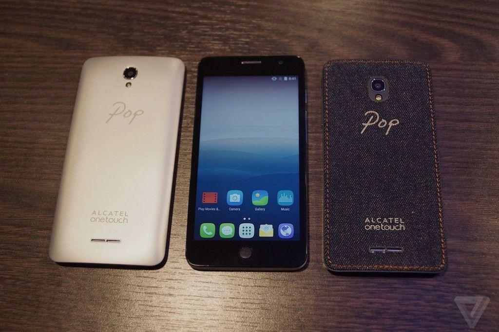 Alcatel OneTouch Pop Star with Denim Style Android