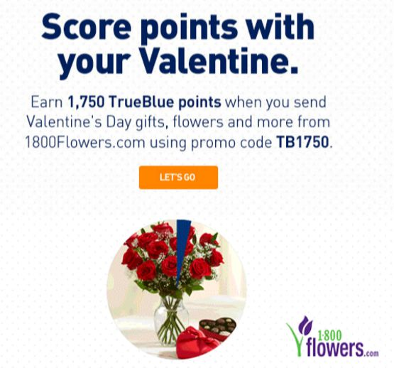 1750 Jetblue Points Per Order At 1 800 Flowers Buy Miles