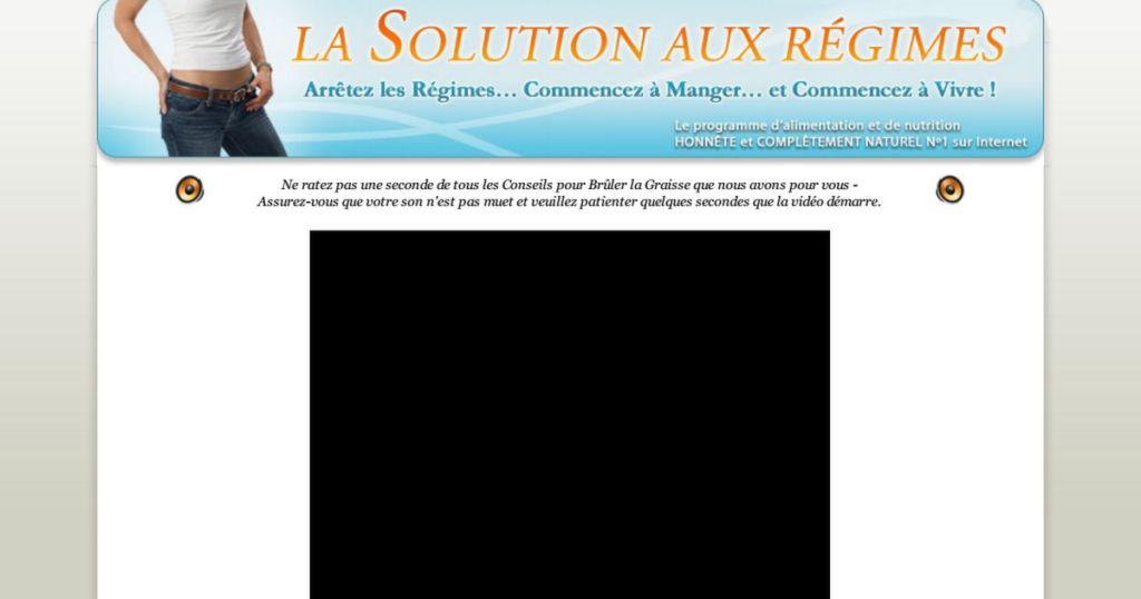 la solution aux regimes pdf livre t u00e9l u00e9charger gratuit pdf