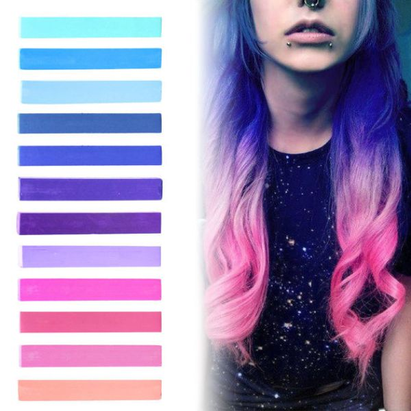 GALAXY HAIR | Blue, Purple, Lilac & Pink Pastel Ombre Hair ...
