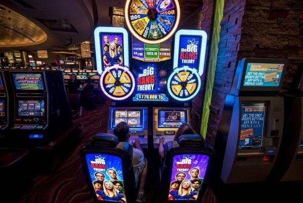the big bang theory slot machine