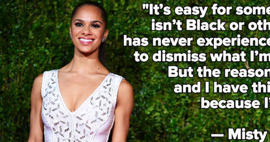 In One Powerful Quote, Misty Copeland Just Exposed Ballet