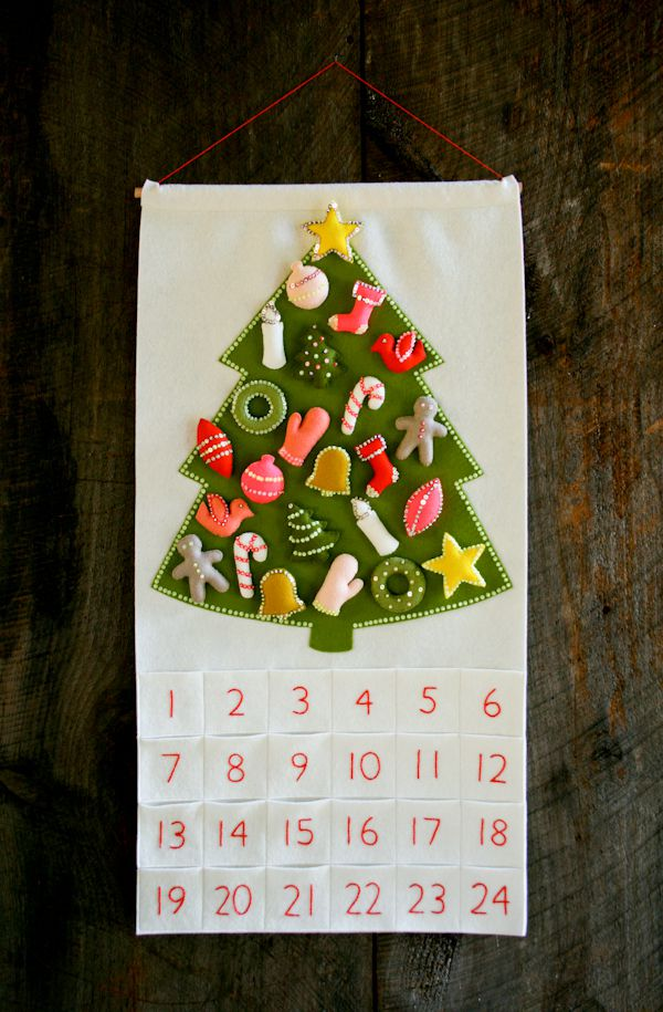 Knitting Pattern Christmas Advent Calendar : Christmas in July! Our Advent Calendar Kit and Pattern - The Purl Bee - Knitt...