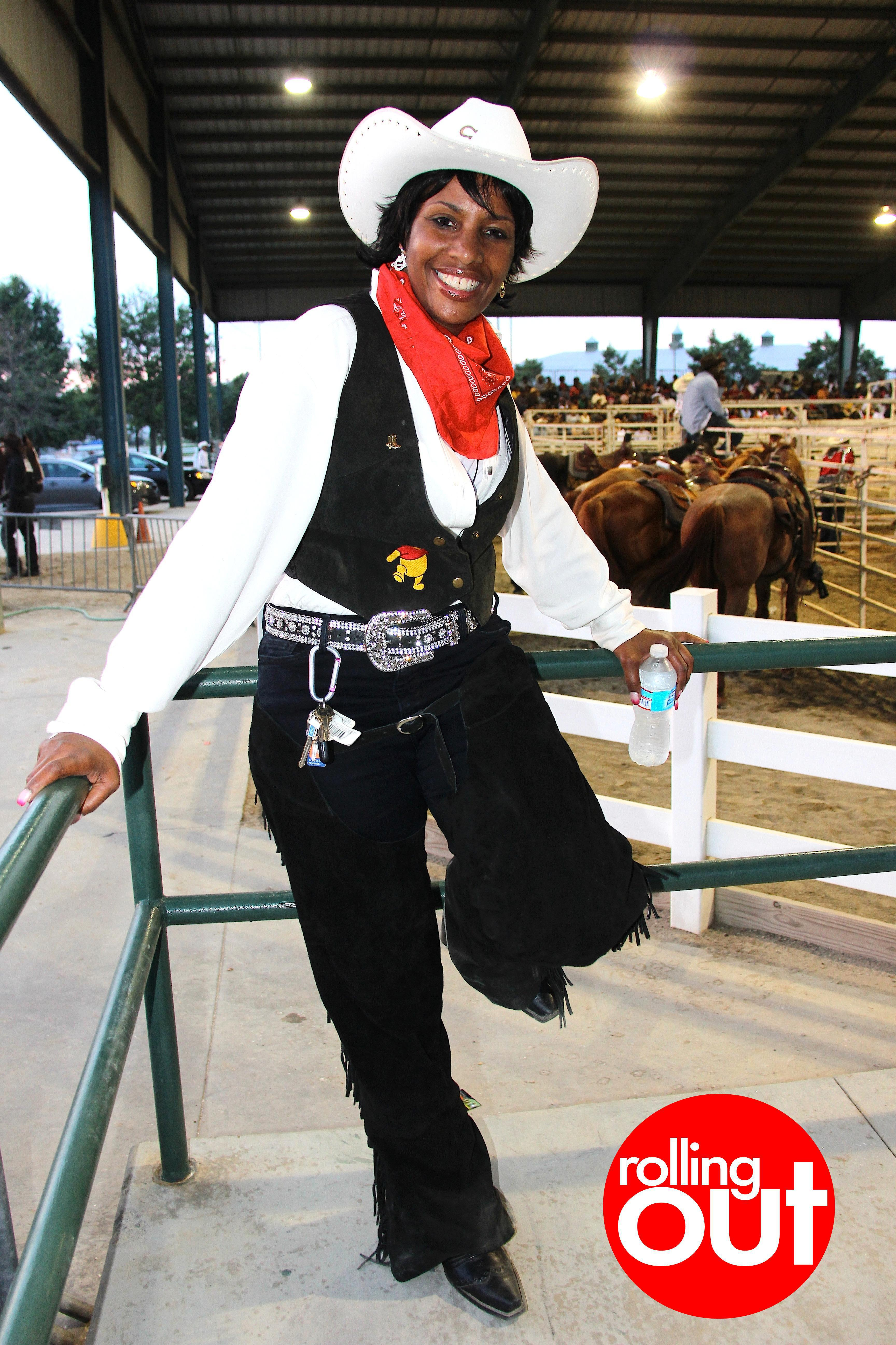 Most Stylish Black Cowgirls At The Bill Pickett Rodeo In