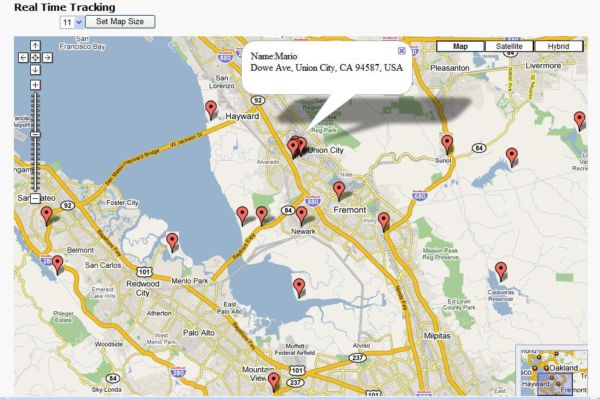 Location based dating gps