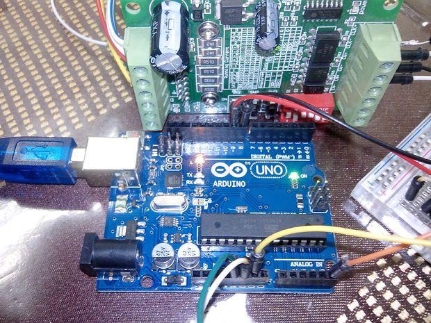 Arduino Uno Tb6560 Stepper Motor Driver