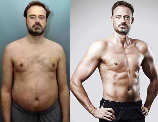 Jamie Theakston Workout & Diet for Weight Loss - Healthy Celeb