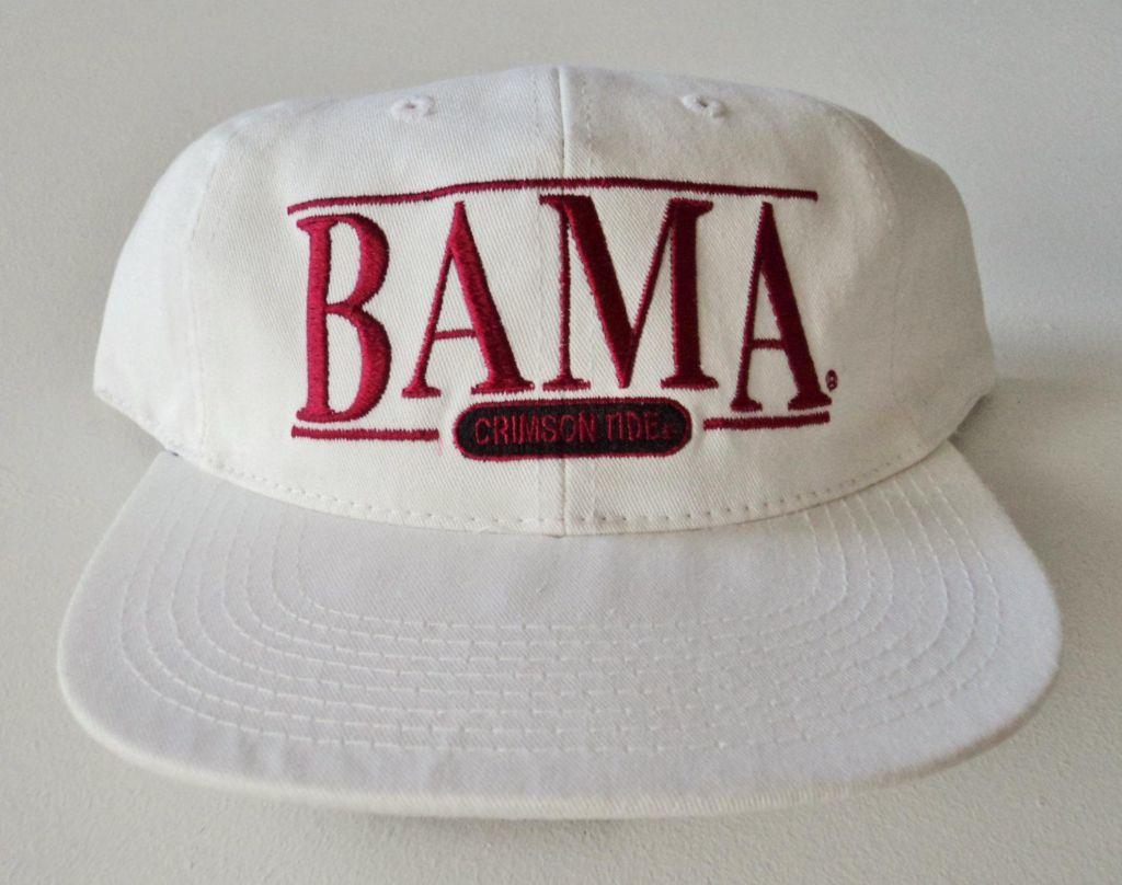 e65bac163c9b24 Vintage Alabama Crimson Tide Deadstock Sports Specialties Strapback Hat  NCAA VTG