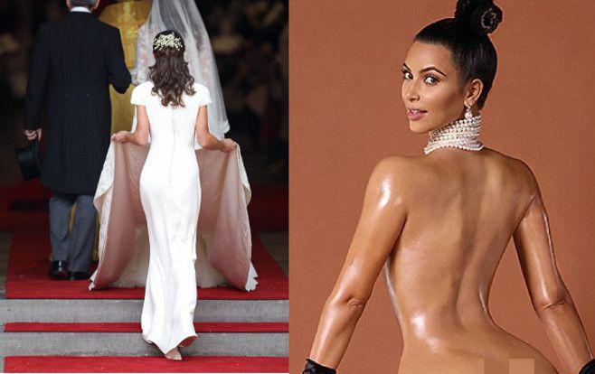 Pippa Middleton Isn't a Big Fan of Kim Kardashian's Bare Ass ...